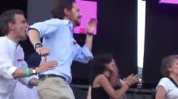 Ο Πάμπλο Ιγκλέσιας των Podemos χορεύει στο gay pride της
