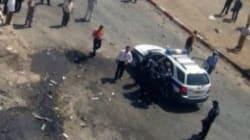 Une patrouille de police attaquée par des terroristes en plein centre ville de