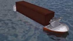 Ημικαταδυόμενο πλοίο για τον κινεζικό