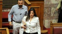 Ζωή Κωνσταντοπούλου: Το περιεχόμενο της συμφωνίας δεν θα μπορούσα ποτέ να το ψηφίσω – Δηλώνω
