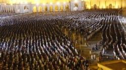 Record d'affluence: 30.000 fidèles à la prière des