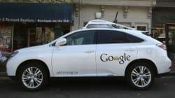 구글 무인차 사고 :