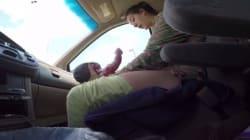 Γέννησε μόνη της στο αυτοκίνητο και ο σύζυγός της κατέγραψε τα πάντα σε