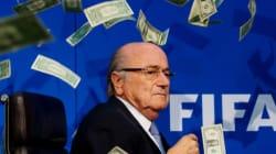 FIFA, 블라터·플라티니에 자격정지