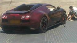 Le légendaire Bugatti Veyron de passage à