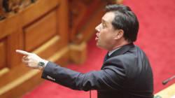 Χαμός στη Βουλή μεταξύ Θεανώς Φωτίου και Άδωνι