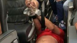 Επιβάτες έδεσαν χειροπόδαρα μεθυσμένο συνεπιβάτη