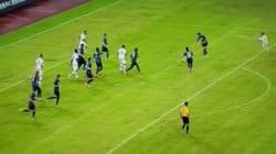 Football: un but de ninja!
