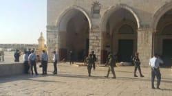 Jérusalem-Est: des soldats de l'occupation prennent d'assaut