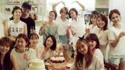 배용준·박수진의 결혼 축하