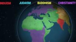 Η ιστορία των θρησκειών μέσα από ένα βίντεο 2,5