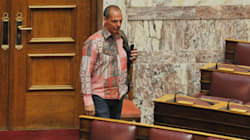 O Γιάνης της ψυχεδέλειας... Το Twitter σχολιάζει αναλόγως το «ιδιαίτερο» πουκάμισο του
