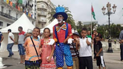 Sports, musique et jeux d'enfants dans les rues d'Alger lors de la journée sans