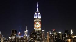 O Σεσίλ στην πρόσοψη του Empire State