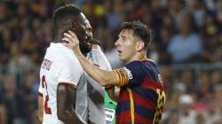 Ce joueur a pris un coup de tête de Lionel