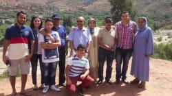L'ancien président tunisien Moncef Marzouki présente sa famille marocaine sur