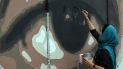 Les murs de Kaboul gardent un oeil sur la