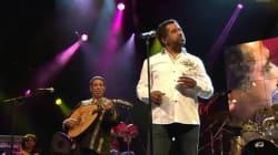 Une dizaine de chanteurs algériens, dont Khaled, à un gala de soutien à la candidature