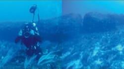 해저에서 발견된 1만년 된 거석의