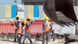 Tunisie: 5% des ouvriers de chantiers sont