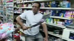 Ο ληστής μπορεί να είχε μαχαίρι, αλλά ο ταμίας είχε σπαθί (και δεν φοβήθηκε να το