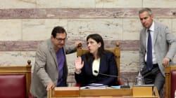 Στο πλευρό της Κωνσταντοπούλου ο Μαντάς: Να σταματήσουν οι επιθέσεις των