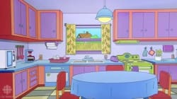 Ils recréent la cuisine des Simpson dans leur