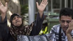 Le palestinien Mohammed Allan dans un état est