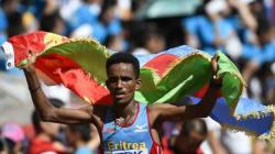 Mondiaux d'athlétisme: un Erythréen de 19 ans champion du monde au