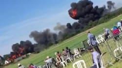 Angleterre : crash d'un avion à Brighton lors d'un meeting