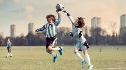 Quand les enfants remplacent les footballeurs au pire des