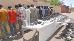 110 contrebandiers arrêtés dans plusieurs régions frontalières du