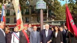 Paris rend hommage à Mohammed V, Compagnon de la