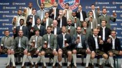 Benatia et Ribéry posent sans bière sur une photo du Bayern