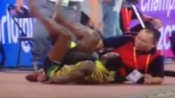 Usain Bolt renversé par un Segway juste après son incroyable sacre