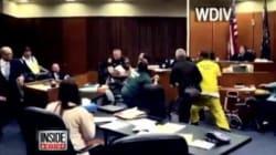 ΗΠΑ: Η επίθεση πατέρα στον δολοφόνο της 3χρονης κόρης του, μέσα στην αίθουσα του