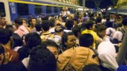 3.650 πρόσφυγες και μετανάστες έφτασαν στη Βιέννη. Διαμαρτυρία στον σιδηροδρομικό σταθμό της