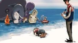 Το twitter ζωγράφισε τον παράδεισο για τον μικρό Aylan: Τα 16 σκίτσα που