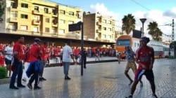 Des hooligans saccagent la gare de