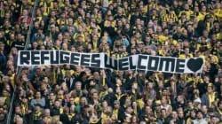 Ποδόσφαιρο και μεταναστευτικό: Βρετανοί και Γερμανοί φίλαθλοι κάνουν κερκίδα υπέρ των