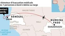 Un avion d'évacuation médicale du Burkina s'abîme au large du Sénégal: 7 disparus dont deux