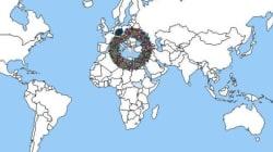 Ένα κλικ σε αυτόν τον διαδραστικό χάρτη αποκαλύπτει την μεταναστευτική ιστορία από και προς την κάθε