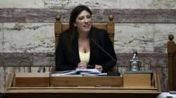 Κωνσταντοπούλου: Δεν κατεβαίνει στις εκλογές ο ΣΥΡΙΖΑ, αλλά το
