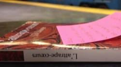 Les lecteurs invités à oublier leurs livres dans les lieux