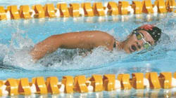 Jeux Africains 2015: la nageuse Majda Chebaraka décroche l'or et bat son