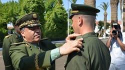 Le général-major Menad Nouba nouveau chef de la gendarmerie, Ahmed Bousteila à la