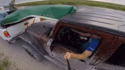 Επική γκάφα: Δείτε γιατί κατέστρεψε το παρμπρίζ του αυτοκινήτου