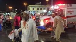 URGENT: La chute d'une grue provoque la mort de plus de 87 personnes à la