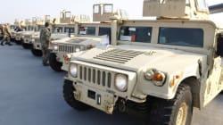 28 véhicules de guerre américains livrés à la Tunisie courant
