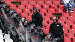 Συνελήφθη στο Ελ.Βενιζέλος ντυμένος μοναχός Σέρβος χούλιγκαν καταζητούμενος για